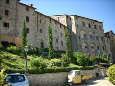Hrad a historické centrum Anghiari