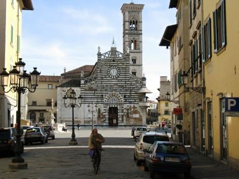 Hlavní náměstí v Pratu