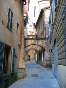Romantická ulička Siena