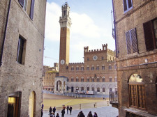 Siena v Itálii