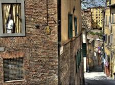 Malebné zákoutí Sieny
